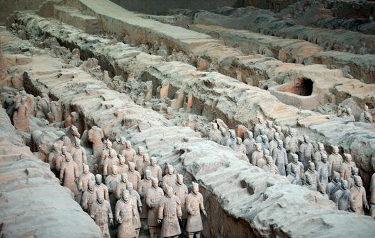 Forge of Empires Terracotta Army
